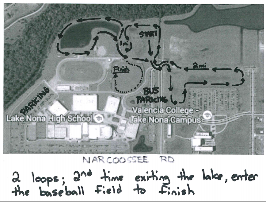 lake nona  map